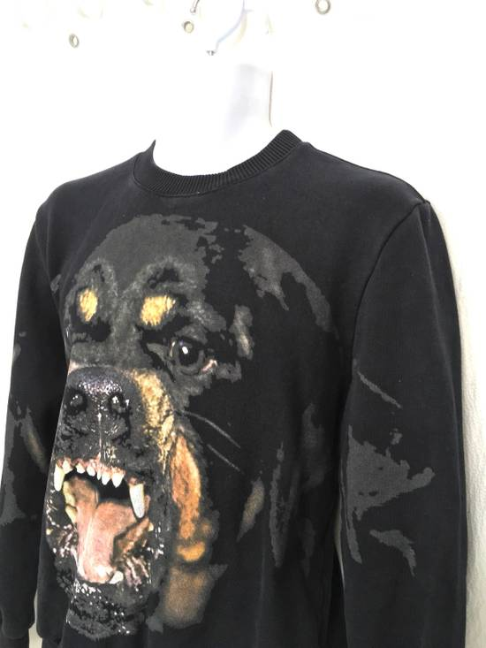 Givenchy Givenchy Black Rottweiler Long Sleeve Crewneck Sweater Size US S / EU 44-46 / 1 - 1