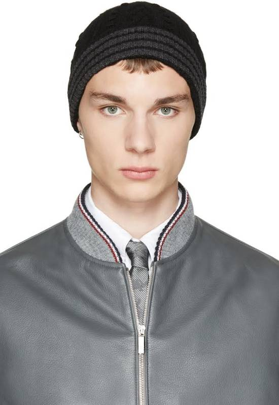 Thom Browne Cashmere Cable Knit Beanie Size ONE SIZE - 2