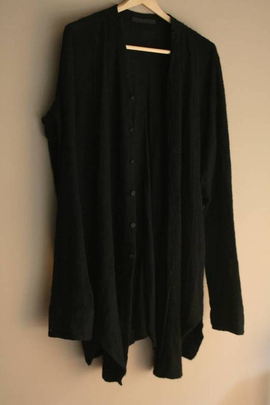 Julius Angora Wool Long Cardigan concealed placket Size US L / EU 52-54 / 3 - 1