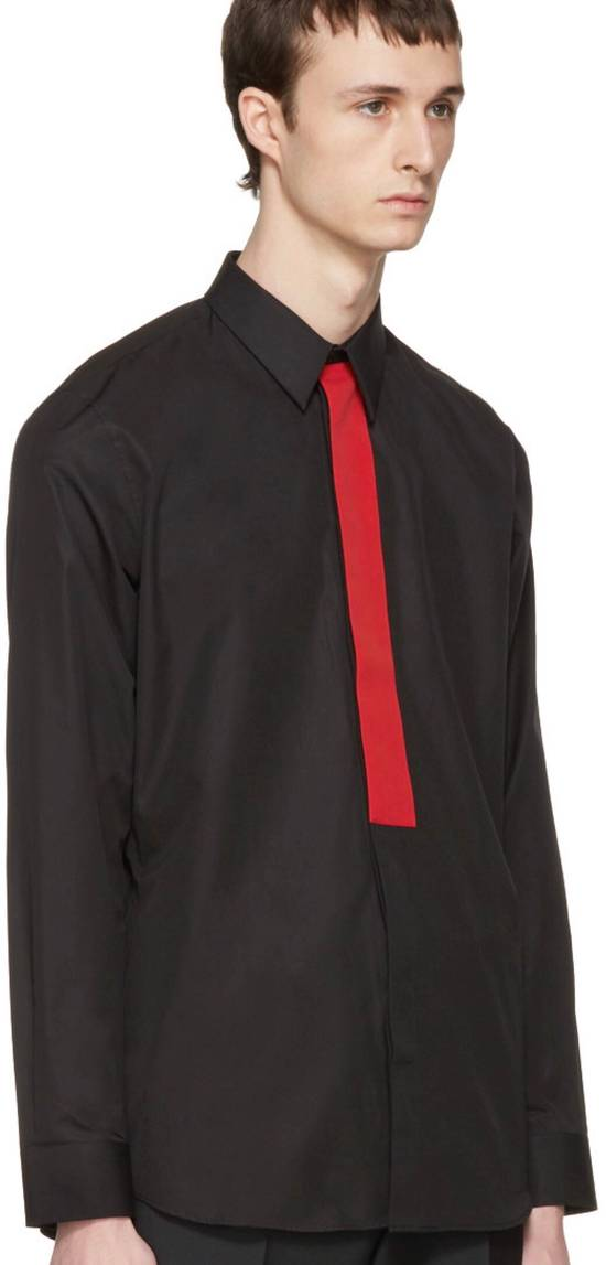 Givenchy Givenchy Men's Black Red Band Shirt Size US S / EU 44-46 / 1 - 7