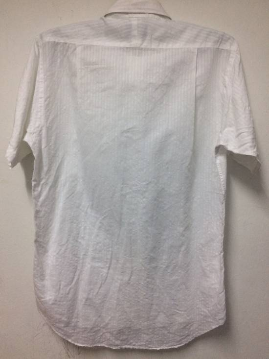 Givenchy Button Up S/S Monsieur Givenchy White Large Made in Japan. Size US L / EU 52-54 / 3 - 3
