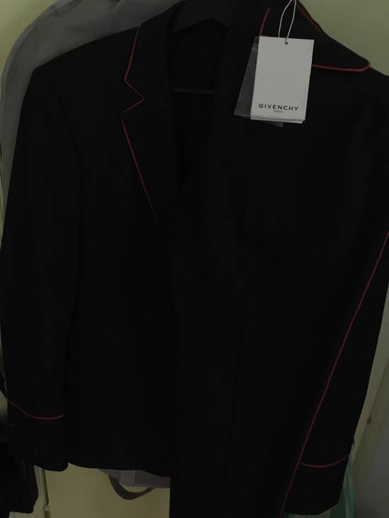 Givenchy Wool Mohair Contrast Piping Suit Size 42R - 5