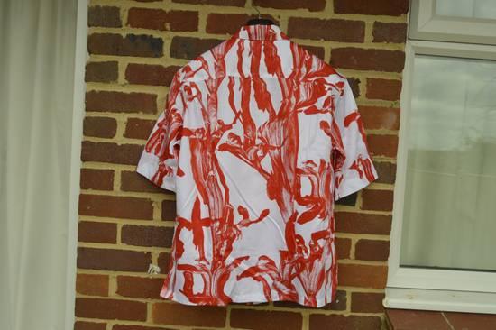 Givenchy Iris Print Short Sleeve Shirt Size US M / EU 48-50 / 2 - 7