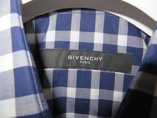 Givenchy Blue check- shirt Size US M / EU 48-50 / 2 - 4