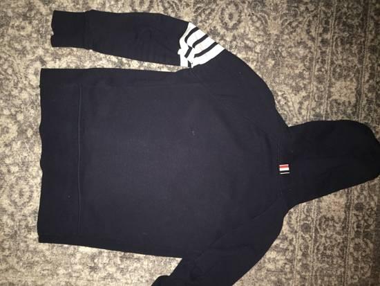 Thom Browne Thom Browne 4 stripe navy blue sweatshirt Size US XXL / EU 58 / 5 - 3