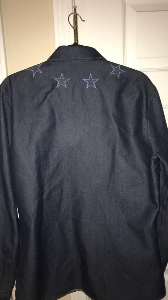 Givenchy Givenchy Star Collar Button Up Navy Denim Size US M / EU 48-50 / 2 - 1