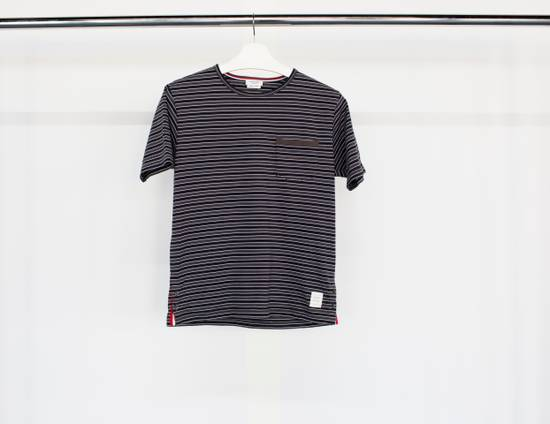 Thom Browne T-shirt in striped cotton jersey Size US XS / EU 42 / 0