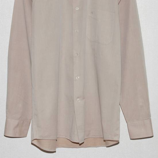 Balmain Vintage Balmain Paris Men's Longsleeve Button Shirt Beige Size M L 39 40 Cotton Size US M / EU 48-50 / 2 - 4