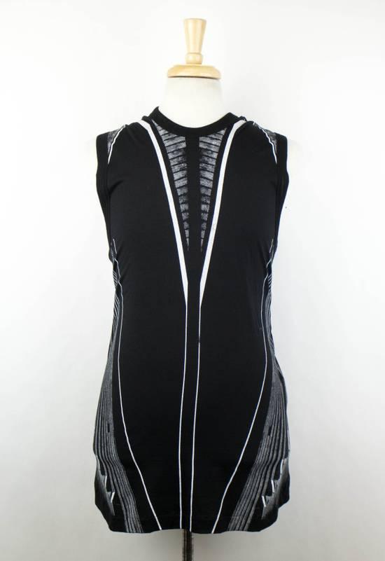 Julius 7 Black Cotton Blend Graphic Tank Top T-Shirt Size 2/S Size US S / EU 44-46 / 1