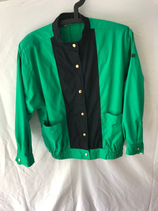 Givenchy Vintage light jacket Givenchy Play GGGG Big logo emroidery made by 1998 Authentic Not Versace , Gucci , Louis Vuitton , Off white , Supreme , Maison Margiela Size US M / EU 48-50 / 2 - 1