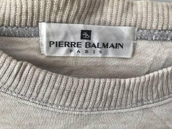 Balmain Vintage Sweater Pierre Balmain Collection Spellout logo embroidery authentic Size US L / EU 52-54 / 3 - 3
