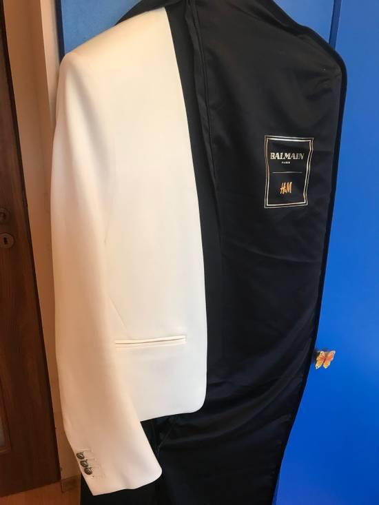 Balmain White Blazers Size 38R - 8