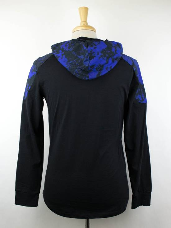 Balmain Black Cotton Shoulder Detail Hoodie Sweatshirt Shirt S Size US S / EU 44-46 / 1 - 2