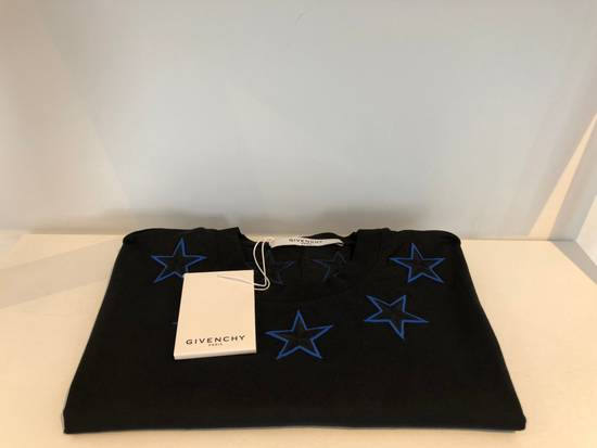 Givenchy New Givenchy, black stars T-Shirt Columbian Fit Size US XS / EU 42 / 0 - 6
