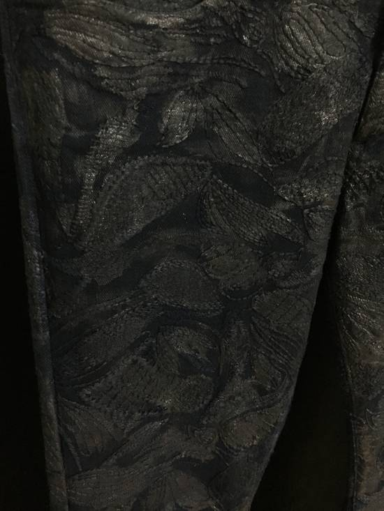 Balmain Balmain Midnight Blue Waxed Embroidered Jeans Size US 27 - 17