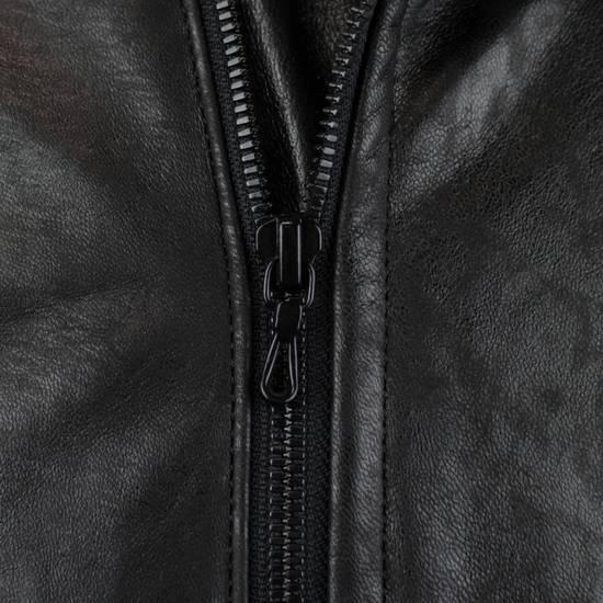 Julius 7 Men's Black Lamb Skin Leather Zip-Up Jacket Size 3/M Size US M / EU 48-50 / 2 - 7