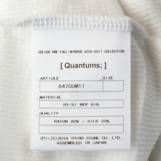 Julius 7 White Silk Blend Long Ribbed Tank Top T-Shirt Size 2/S Size US S / EU 44-46 / 1 - 5