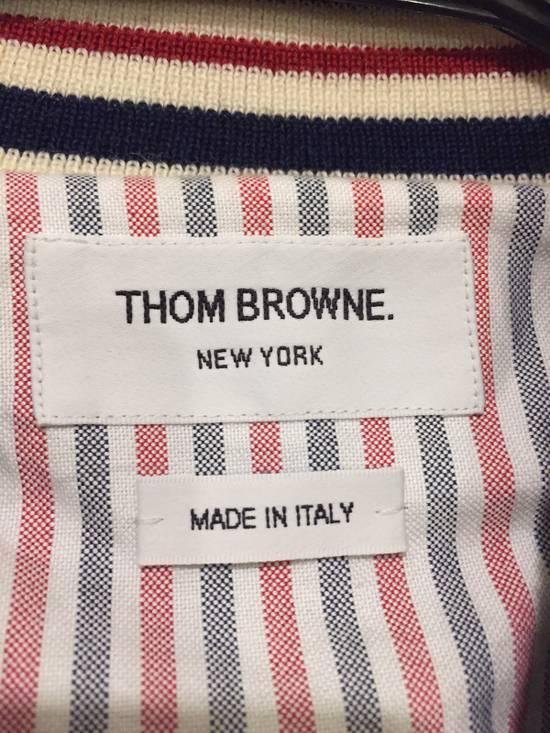 Thom Browne Black Leather Varsity Jacket (NEW W TAG) Size US XS / EU 42 / 0 - 6