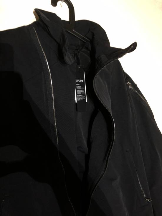Julius Black Asymmetric Bomber Jacket Size US M / EU 48-50 / 2 - 1