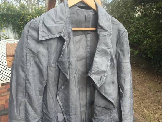 Julius SS14 Silk/Nylon Dusty Grey Coat Size US M / EU 48-50 / 2 - 2