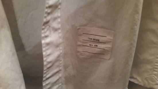 Thom Browne White Oxford Arm Band Shirt Size US S / EU 44-46 / 1 - 2