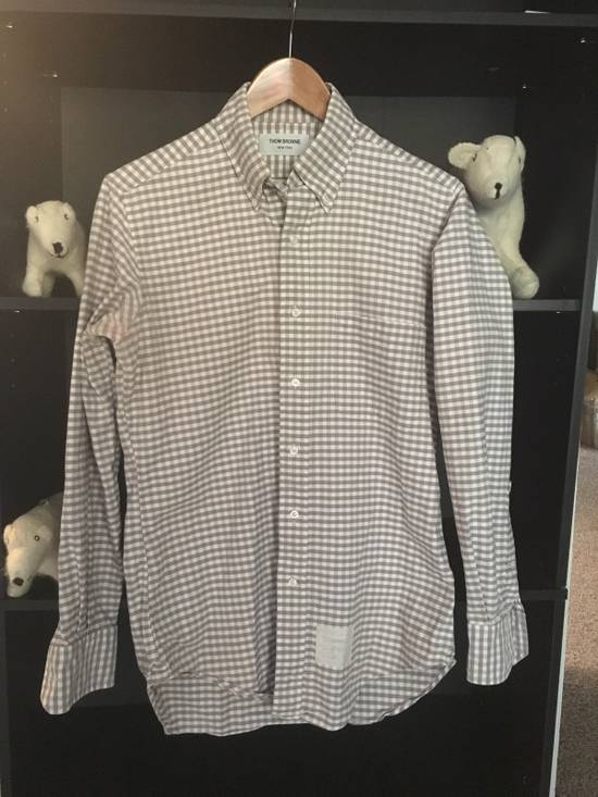 Thom Browne Gingham Oxford Cloth Button Down Size US M / EU 48-50 / 2