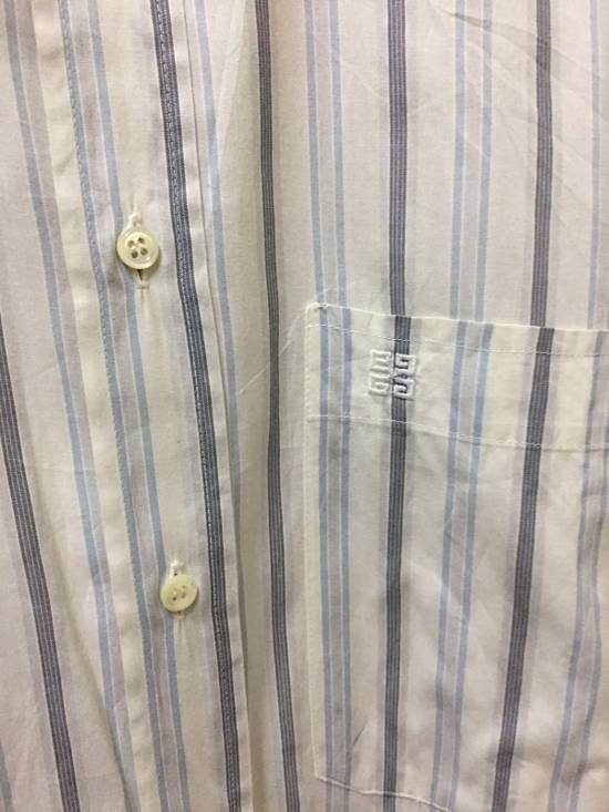 Givenchy Vintage Givenchy Stripe Button Shirt Size US L / EU 52-54 / 3 - 2