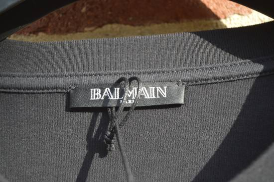 Balmain Black T-shirt Size US M / EU 48-50 / 2 - 2
