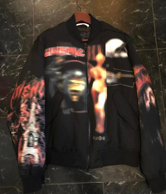 Givenchy Heavy Metal Distressed Bomer Jacket Size US L / EU 52-54 / 3