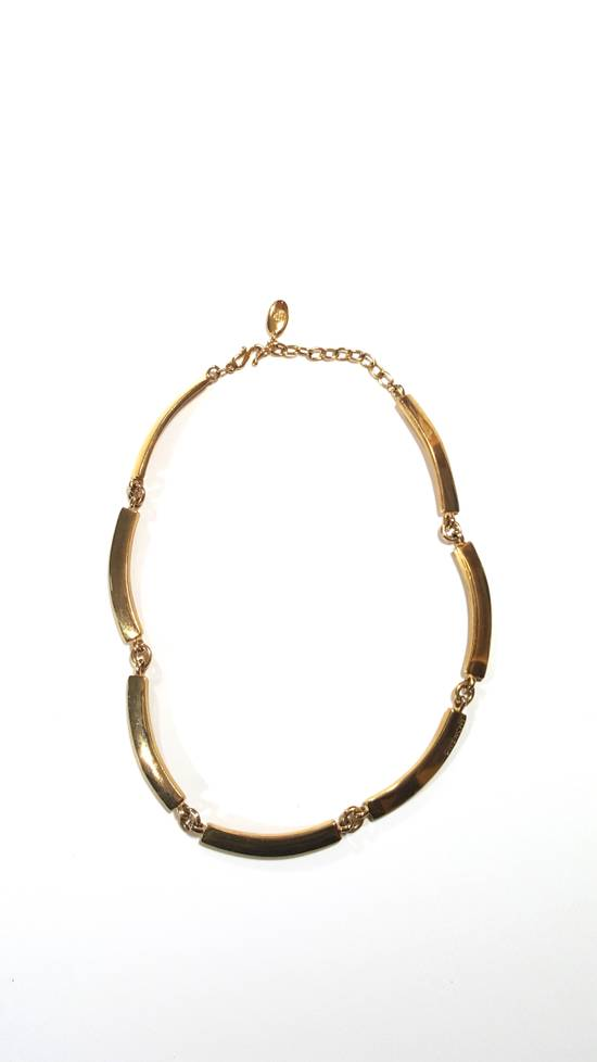 Givenchy Necklace gold plated square chain Size ONE SIZE - 1