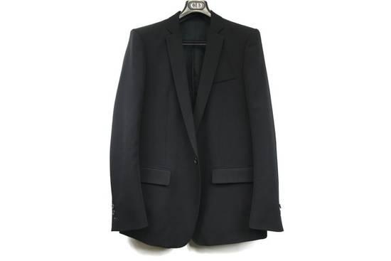 Balmain $2500 Balmain Slim Black One Button Wool Blazer Jacket Blouson Sz 50 48 M Medium Size 40R - 9