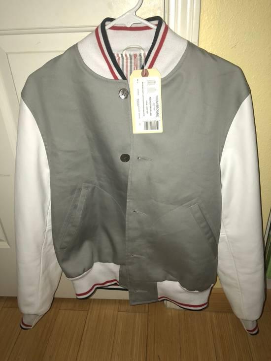 Thom Browne Rare Two Tone Varsity Jacket Size US S / EU 44-46 / 1 - 1