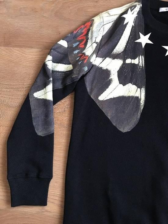 Givenchy Black Butterfly Stars Printed Sweatshirt Size M White Jumper Top Fleece Size US M / EU 48-50 / 2 - 2