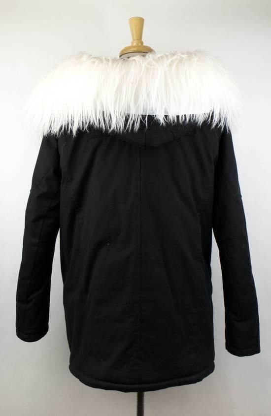 Julius Black Cotton Blend Zip-Up Hooded Parka Coat Size 3/M Size US M / EU 48-50 / 2 - 3