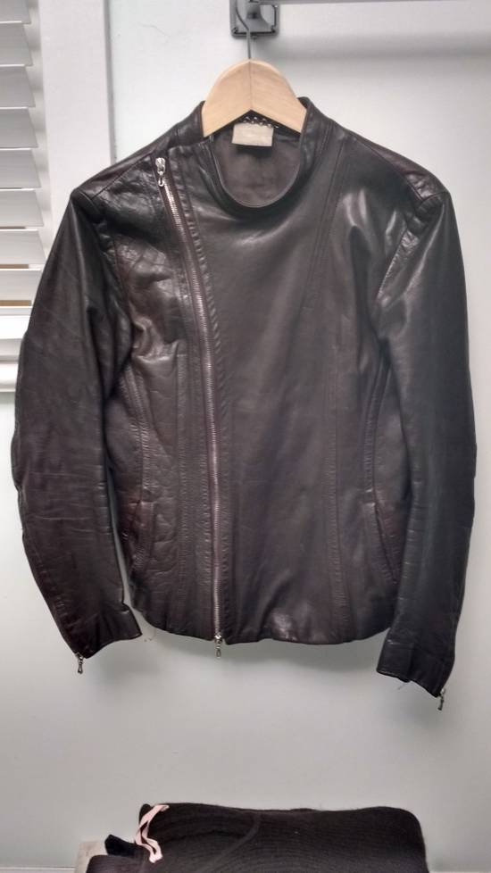 "Julius a/w 2005 ""thieves"" leather fencing jacket Size US M / EU 48-50 / 2"