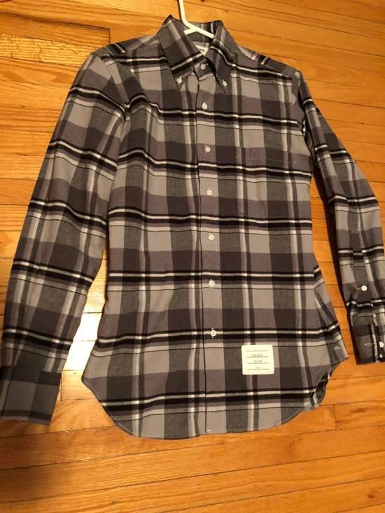 Thom Browne FW16 Shadowcheck Flannel Size US XS / EU 42 / 0