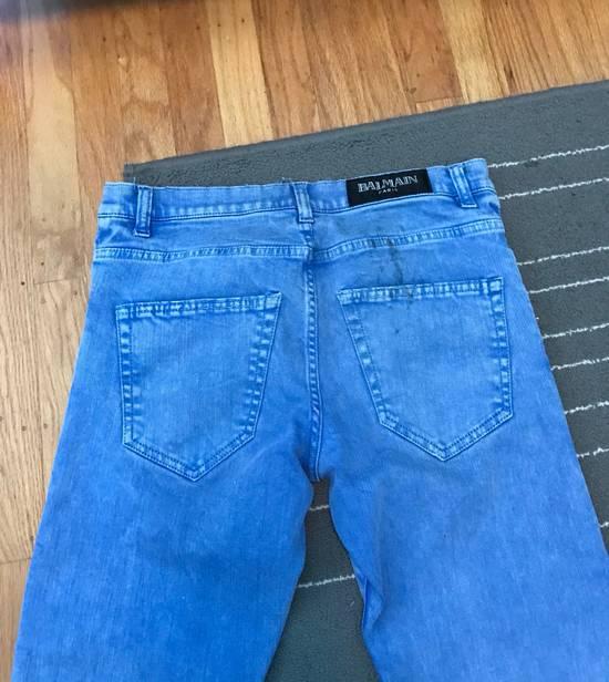 Balmain Balmain Blue Denim Size US 30 / EU 46 - 5