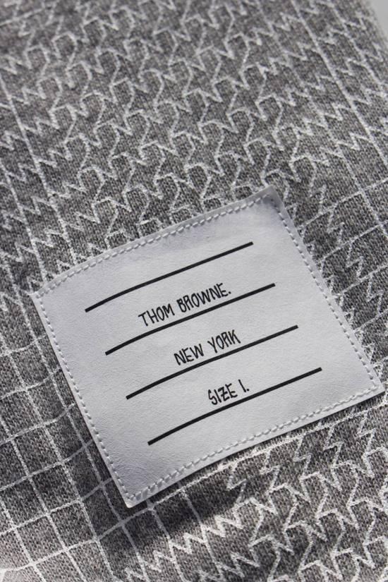 Thom Browne Houndstooth Sweatpants in Grey Size US 30 / EU 46 - 1