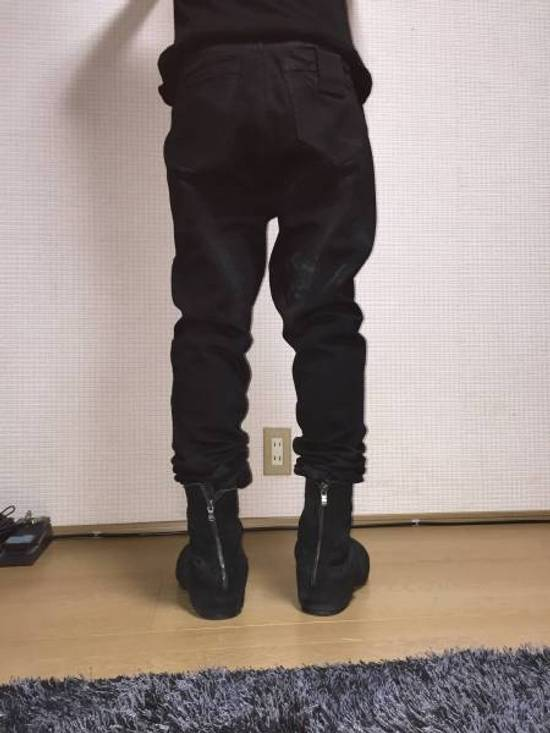 Julius 12oz Denim Waxed Seam Twisted Jeans Size US 30 / EU 46 - 1