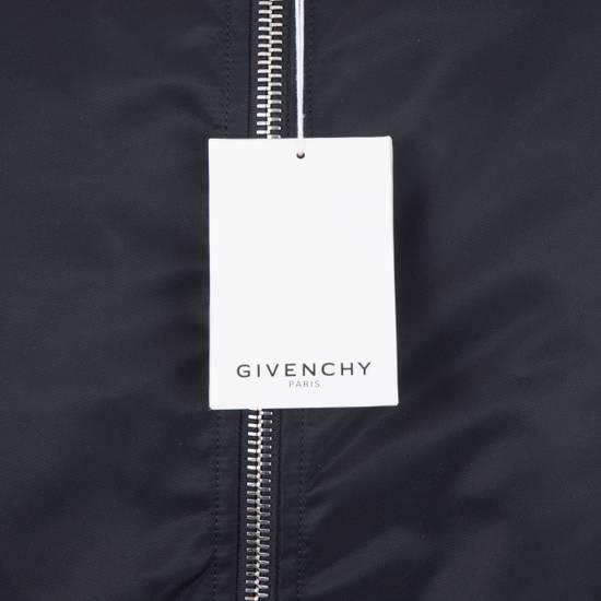Givenchy 2550$ New Black Padded Nylon Illuminati Patch Bomber Jacket Size US L / EU 52-54 / 3 - 11