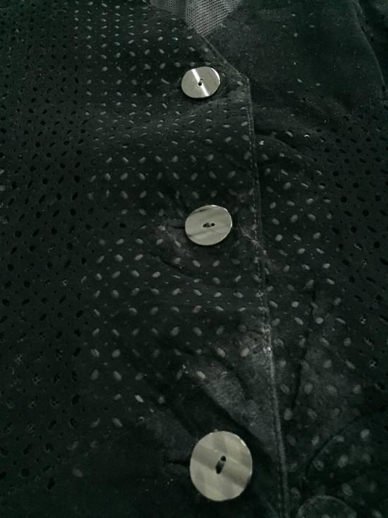 Balmain [ NEED GONE TODAY ! ] Suede Button Vest Jacket Armpit 16x21.5 Size US XS / EU 42 / 0 - 4