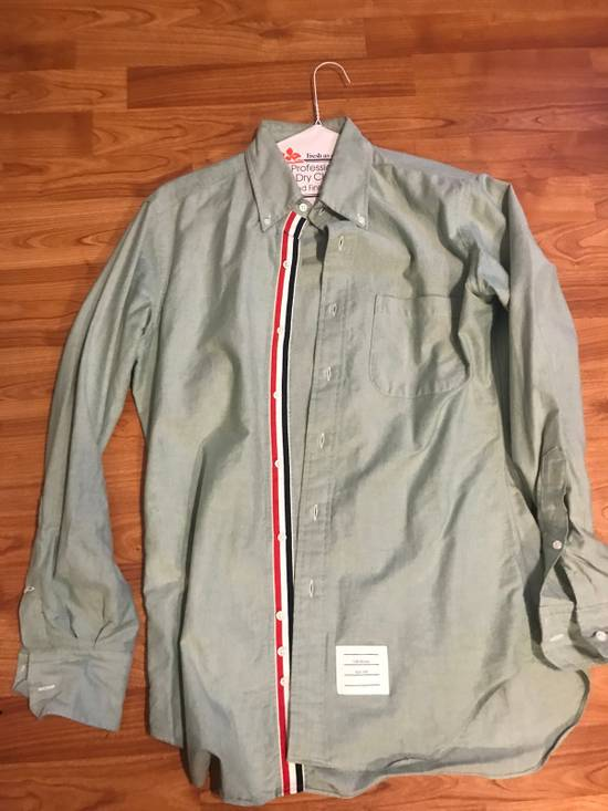 Thom Browne Classic Light Green Long Sleeves Size US M / EU 48-50 / 2