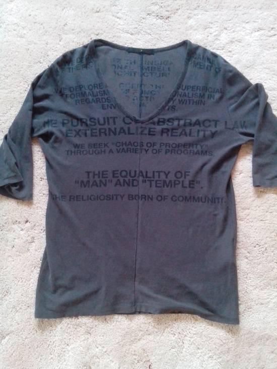 Julius SS06 Manifesto 3/4 Sleeve Tee Size US S / EU 44-46 / 1