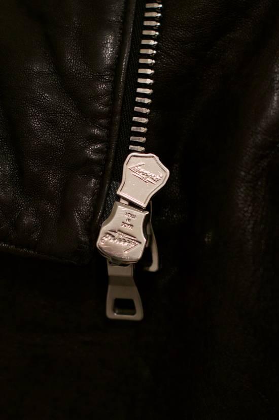 Balmain RARE! Lambskin Leather Biker Jacket Size US L / EU 52-54 / 3 - 5