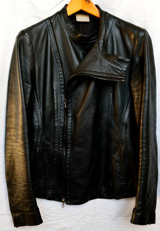 julius thieves leather fencing jacket size m leather