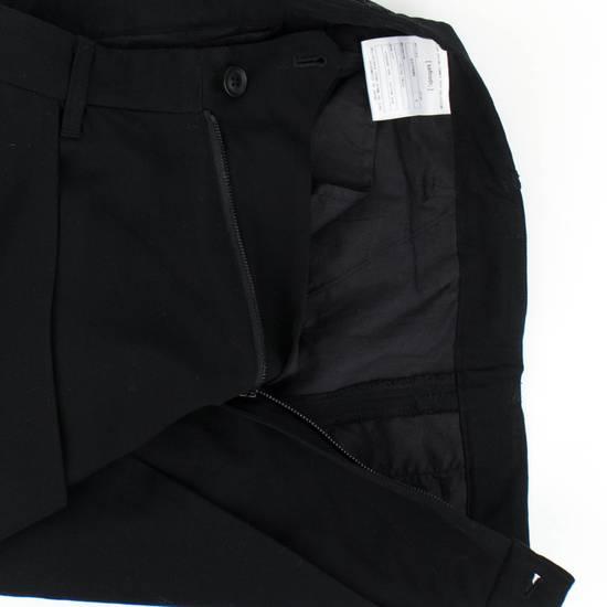 Julius 7 Black 'Slim Drop Crotch' Slim Fit Casual Pants Size 4/L Size US 36 / EU 52 - 1