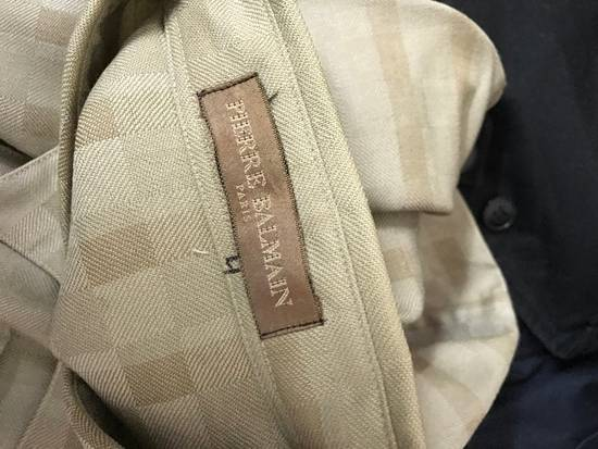 Balmain FINAL DROP BEFORE DELETE!!! Pierre Balmain Paris Check Plaid Wool Button Shirt Size US M / EU 48-50 / 2 - 6