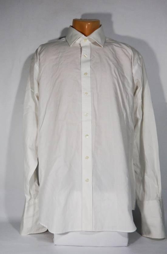 balmain balmain paris button white shirt with cufflinks size xl shirts button ups for sale. Black Bedroom Furniture Sets. Home Design Ideas