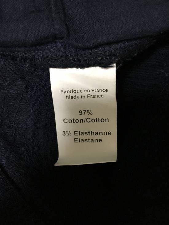 Balmain Balmain Midnight Blue Waxed Embroidered Jeans Size US 27 - 24