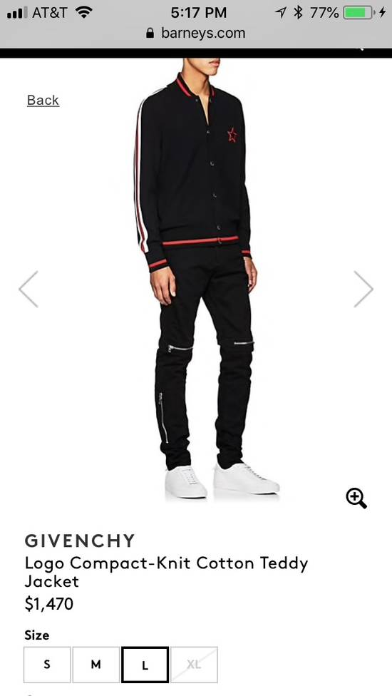 Givenchy Logo Compact-Knit Cotton Teddy Jacket Size US XL / EU 56 / 4 - 1